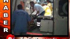 meydana gelen kaza da 3 kişi yaralandı
