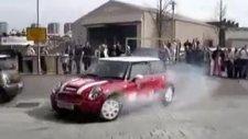 mini cooper drift show