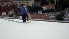 gerkem / sprey poliüretan köpük ile çatı yalıtımı