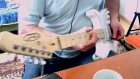T & T Sisters RF 30 WH Elektro Gitar ve Ses Örneği