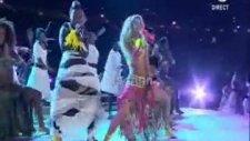 Shakira 'waka Waka' İle Stadı İnletti!!