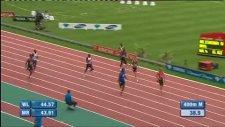 jamaikalı atlet usain bolt 100 metrede 9.84 monaco