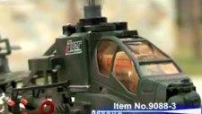 apache 9088 savaş helikopteri 3 kanal