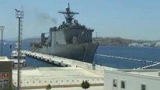 amerikan savaş gemisi moral için bodrumda