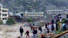 flood in river swat at behrain
