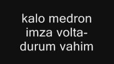 Kalo Ft Medron & İmza Ft Volta - Durum Vahim