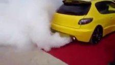 baca değil egsoz dumanı
