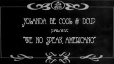 yolanda be cool-we no speak amerıcano