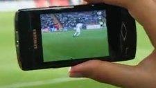 futbolda böyle teknoloji görülmedi!!