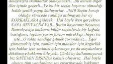 Mustafa Balbay'dan Mektuo Var