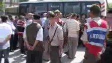 minibüsçüler hastane yolunu kapattı muncurlu hasta