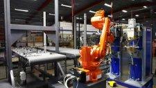 ABB robot ile punta kaynak uygulaması ve otomatik