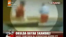 okulda dayak skandalı!!