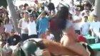 seksi kız rodeo yapınca çılgın dakikalar yaşandı