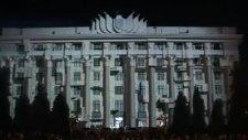 Rusyada İnanılmaz Projeksiyon Gösterisi