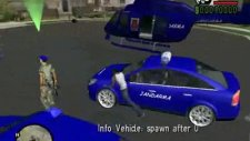 Gta San Andreas Jandarma Araçları