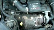 1.4 tdci ford fiesta motor üflemesi