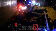 çayeli'nde ölümlü kaza