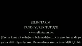 Selim Tarım - Yandi Yurek Tutuşti