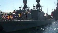 türk savaş gemileri bodruma geldi
