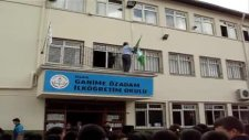 Ganime Özadam İlköğretim Okulu Yeşil Bayrak Töreni