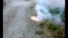 Potasyum Nitrat'tan Sis Bombası Smoke Bomb