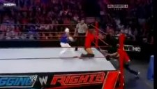 smackdown vs raw - tag team match - part 2