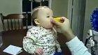 limon yiyen çocuk