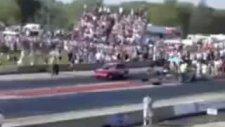 drag yarışları çok ilginç bir kaza!