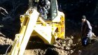 aşağı sarıca köyü su getirme çalışmaları