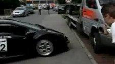 lamborghini diablo kazası
