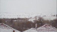 Dedeçam Kasabası Kar Manzaraları