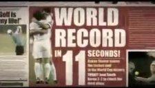 türk milli takımı dünya rekoru 11.sn gol