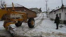 edeköy'de kar