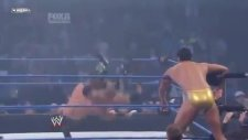smackdown'da ring fena karıştı