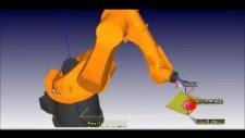 5 axis milling for kuka-surekli 5 eksen simulasyon