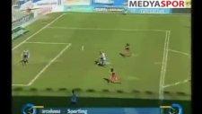 ispanya da müthiş gol