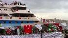 'mavi marmara' gemisi istanbul'da çoşkuyla karşıla