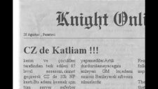 Knight Online Komik Resimler