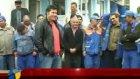 ortem işçileri grev yaptı