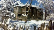 ordu akkuş haliluşağı köyü kar manzaları