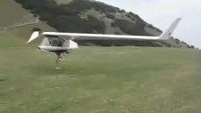 İlginç Uçak Ve Kalkışı