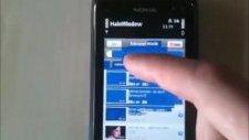 Nokia Symbian^3 Kinetic Scroll Qt qwebview