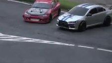 rc oyuncak arabalardan drift show