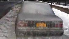 -40 derecede arabanın üzerine su dökülürse