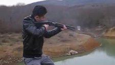 av tüfekleri deneme atışları takılmayan tüfek