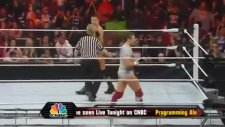 raw'da şampiyonlar karşılaştı