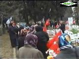 18 mart çanakkale Şehitleri mezarlık ziyareti