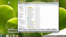windows 7-ev grubu ile dosya paylaşma