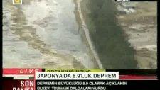 japonyayı vuran dev tusunami